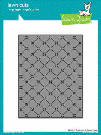 Lawn Cuts Craft Die - Quilted Backdrop