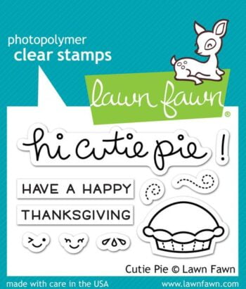 Lawn Fawn Clear Stamps - Cutie Pie