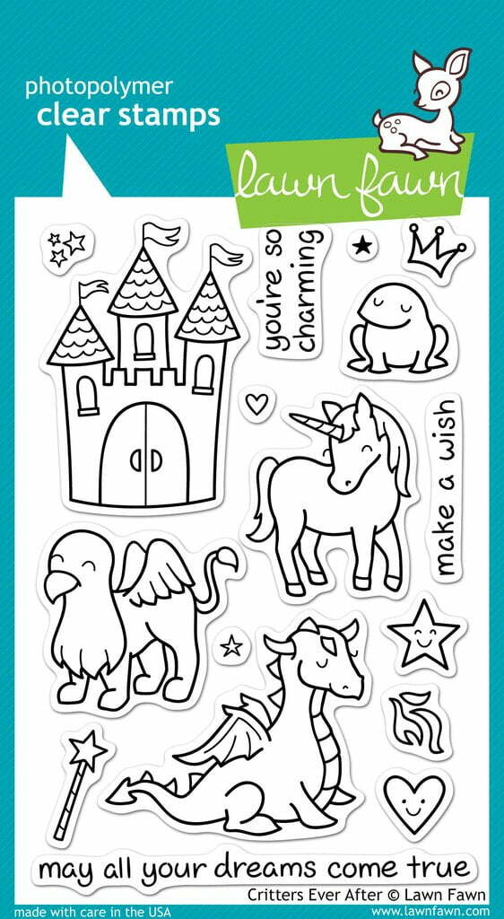 Lawn Fawn Clear Stamps - Critters Ever After