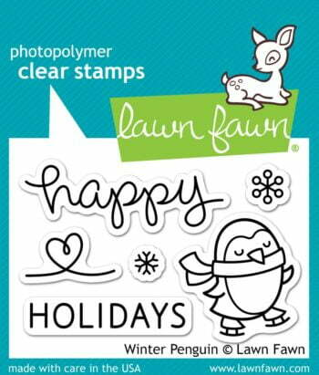 Lawn Fawn Clear Stamps - Winter Penguin