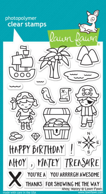 Lawn Fawn Clear Stamps - Ahoy