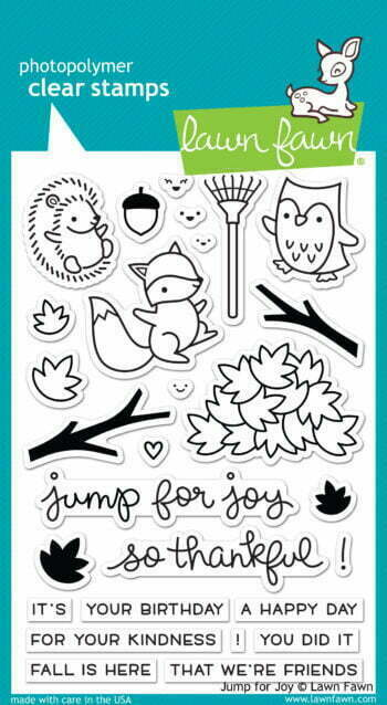 Lawn Fawn Clear Stamps - Jump for Joy
