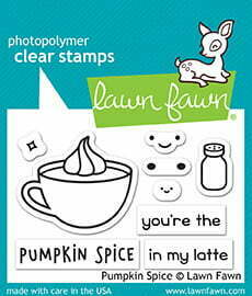 Lawn Fawn Clear Stamps - Pumpkin Spice