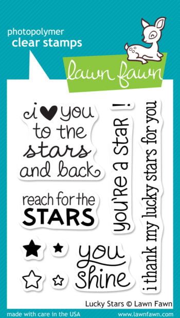 Lawn Fawn Clear Stamps - Lucky Stars