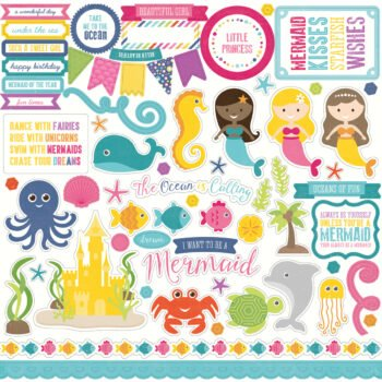 lbm110014 lets be mermaids element stickers 71843.1459448376.1200.1200