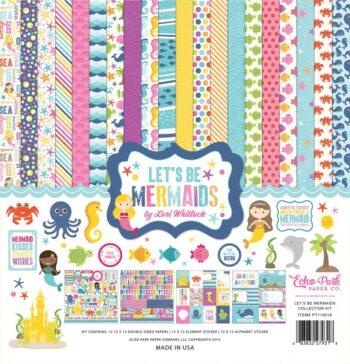 lbm110016 lets be mermaids kit cover