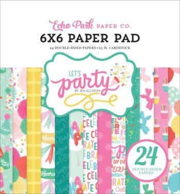 lp170023 lets party paper pad