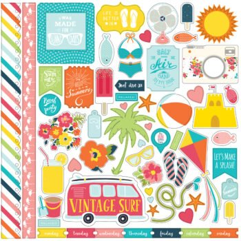 sp106014 summer party element stickers 35357.1451504409.1200.1200