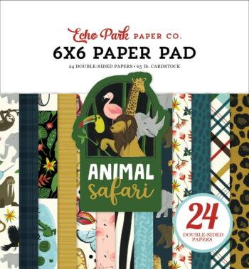 zoo167023 zoo 6x6 zoo paper pad cover