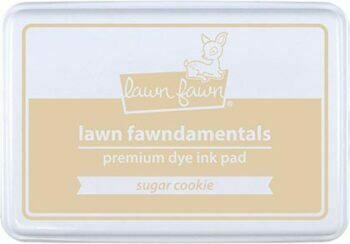 Lawn Fawn Inkpad Sugar Cookie
