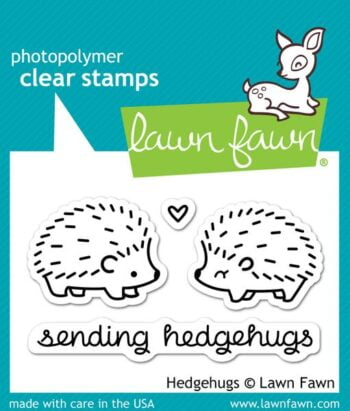 Lawn Fawn Clear Stamps - Hedgehugs