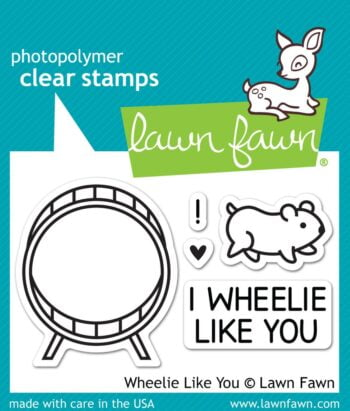 Lawn Fawn Clear Stamps - Wheelie Like You