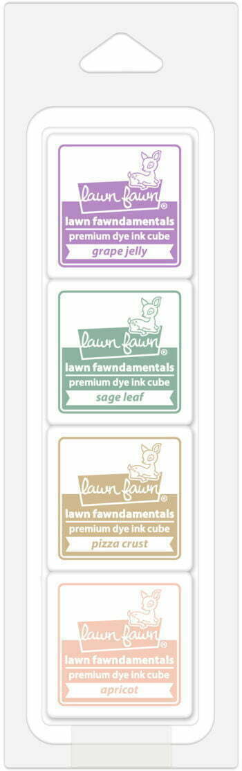 Lawn Fawn Ink Cube Pack - Secret Garden