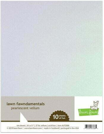 Lawn Fawn - Vellum - Pearlescent