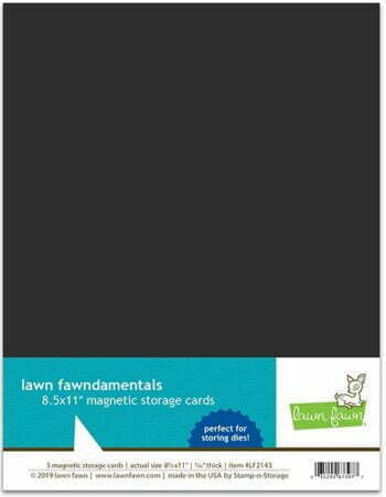 "Lawn Fawndamentals Magnetic Storage Cards - 8.5"" x 11"""