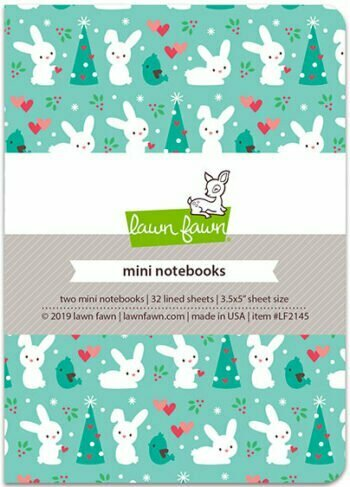 Lawn Fawn - Snow Day Remix - Mini Notebooks