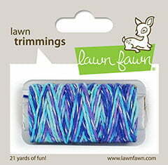 Lawn Fawn - Trimmings - Mermaid's Lagoon Sparkle