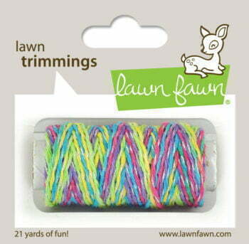 Lawn Fawn Trimmings - Unicorn Tail Sparkle Cord