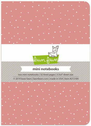 Lawn Fawn - Perfectly Pink - Mini Notebooks