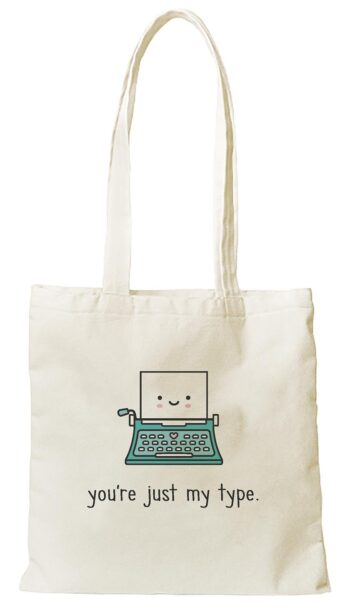 Lawn Fawn Just My Type Tote