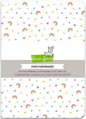 Lawn Fawn - Hello Sunshine Remix - Mini Notebooks