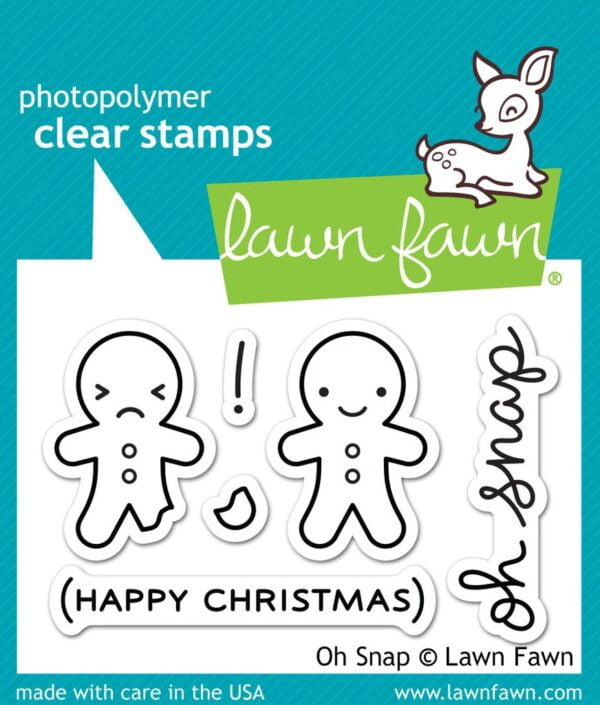 Lawn Fawn Clear Stamps - Oh Snap