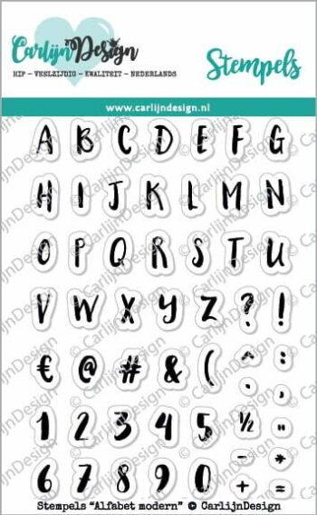 cdst 0046 carlijndesign stempels modern alfabet