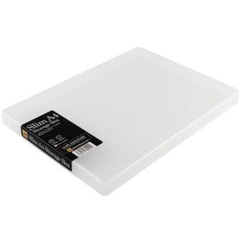 hr westonboxes plastic a4 slim presentation box large