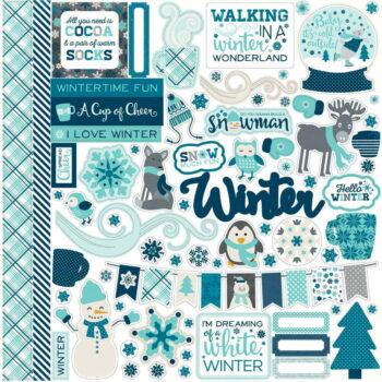 hw95014 hello winter element sticker