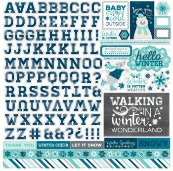 hw95015 hello winter alpha sticker