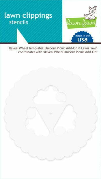 lf2322 lawn clippings reveal wheel templates unicorn picnic addon