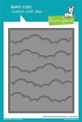 lf2352 lawn fawn craft dies creative cuts puffy cloud backdrop portrait sml