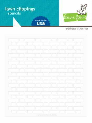 lf2364 lawn fawn template brick stencil