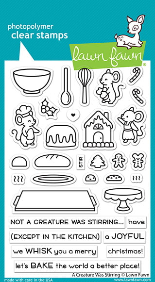 lf2415 lawn fawn clear stamps a creature was stirring sml