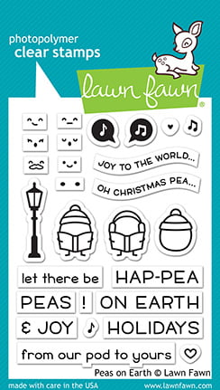 lf2421 lawn fawn clear stamps peas on earth sml