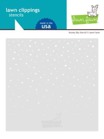 lf2459 lawn fawn template snowy sky stencil
