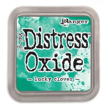 tdo56041 lucky clover tim holtz distress oxide ink by ranger