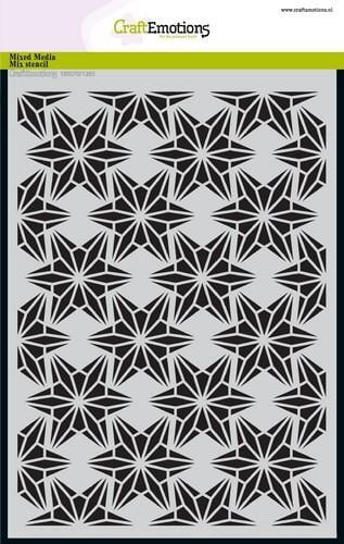 tt craftemotions mask stencil draadvorm sterren a5 a5 09 18 47914 1 g