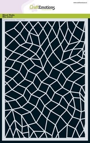 tt craftemotions mask stencil mozaik a5 a5 09 18 47912 1 g