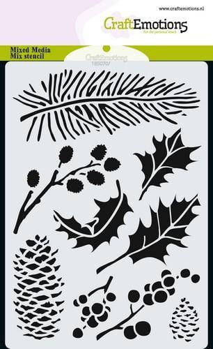 tt craftemotions mask stencil xmas florals a6 a6 09 18 47907 1 g