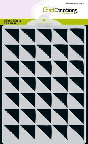 tt craftemotions mm mix stencil design driehoek 90 graden a6 11 18 48648 1 g