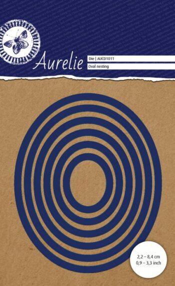 aurelie oval nesting snij embossingsmal aucd1011