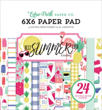 bs182023 best summer ever 6x6 paper pad