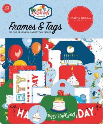 carta bella lets celebrate frames tags cbcb129025
