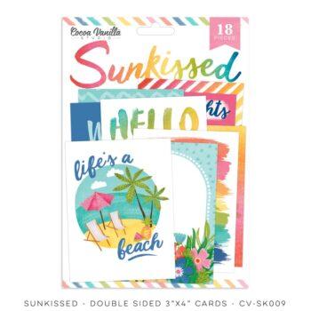 cv sk009 pocket cards cocoa vanilla studio sunkissed collection