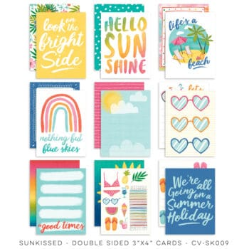 cv sk009a pocket cards cocoa vanilla studio sunkissed collection