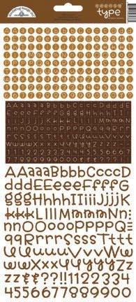 doodlebug design bon bon teensy type stickers 3436