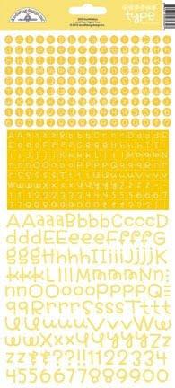 doodlebug design bumblebee teensy type stickers 34