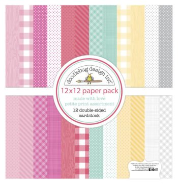 doodlebug design made with love 12x12 inch petite