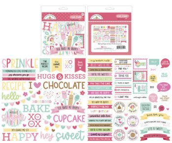doodlebug design made with love chit chat 7111